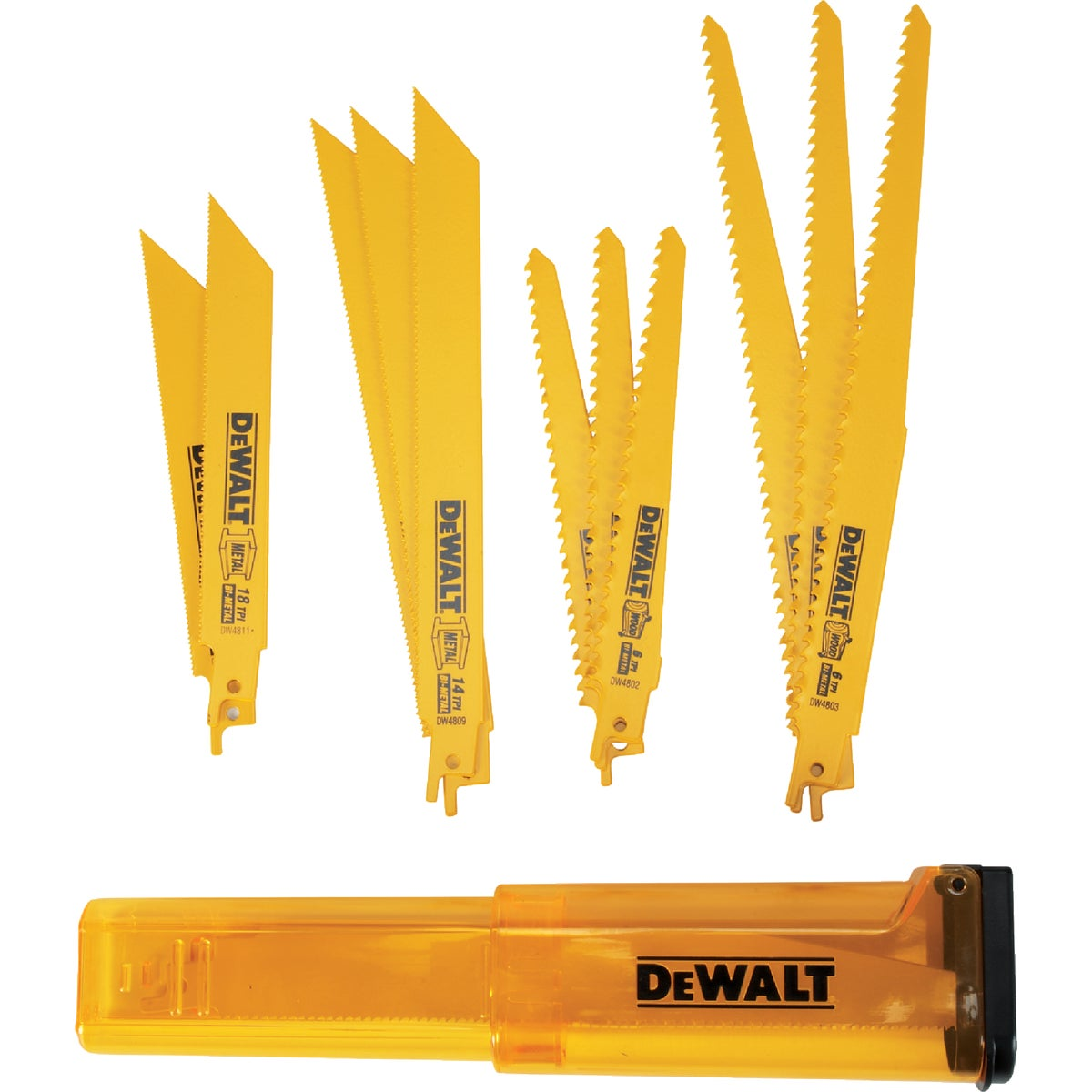 12PC RECIP BLADE SET - DW4892 by DeWalt