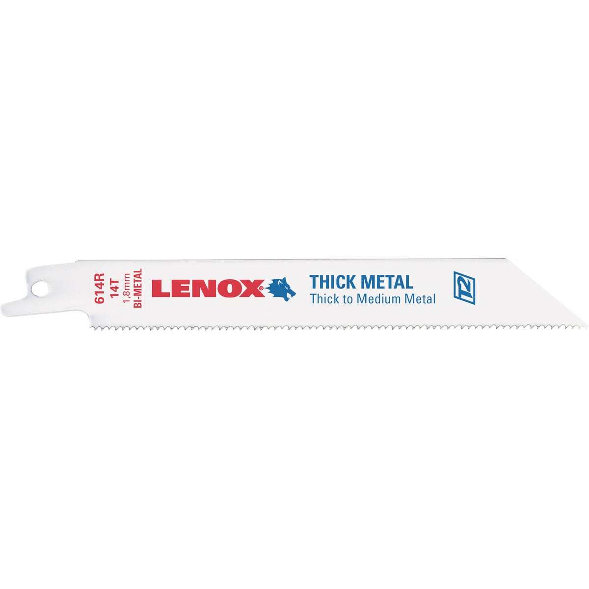 "6"" 14T RECIP SAW BLADE - S614R by Lenox"