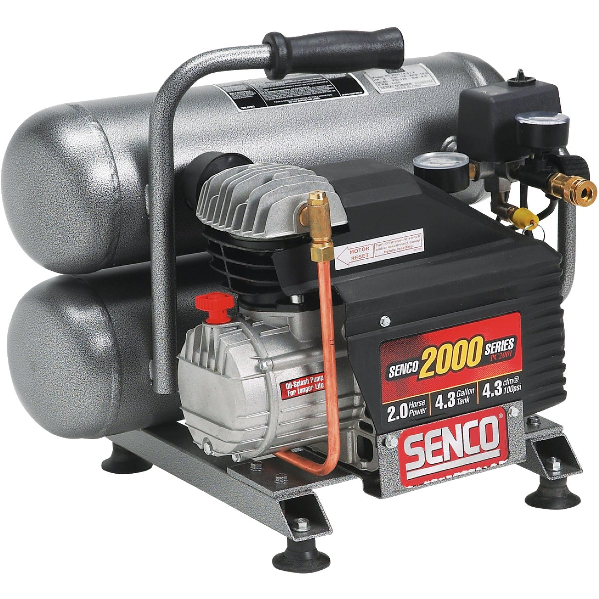 2.5HP 4.3GAL COMPRESSOR - PC1131 by Senco Brands