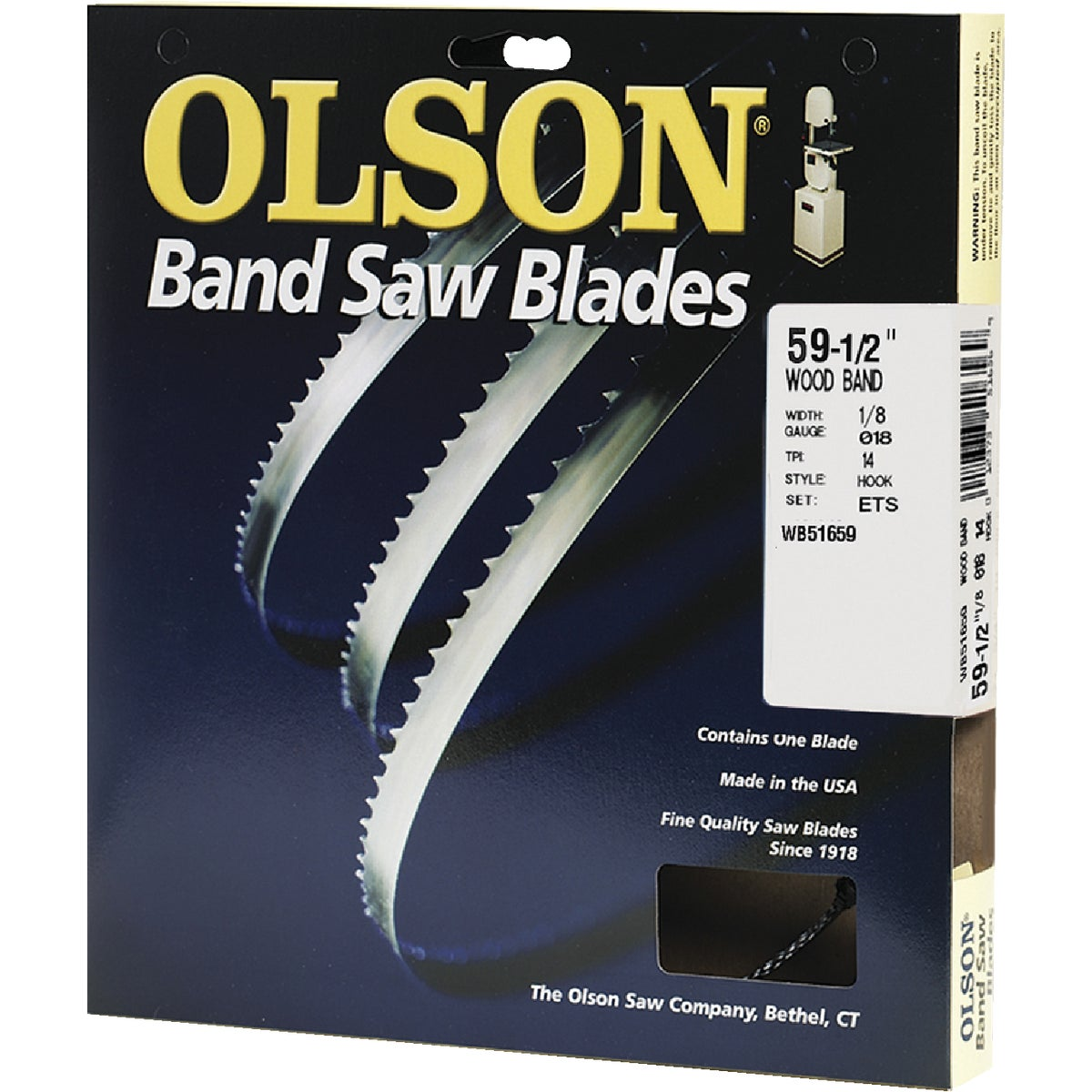 "59-1/2"" BANDSAW BLADE"