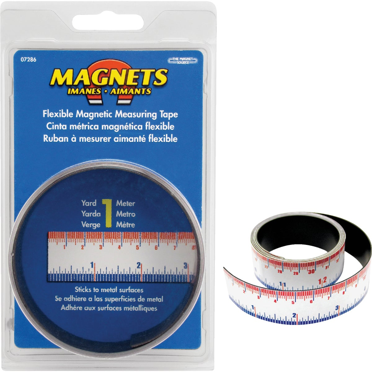 FLEX MAGNETIC TAPE RULE - 07286 by Master Magnetics