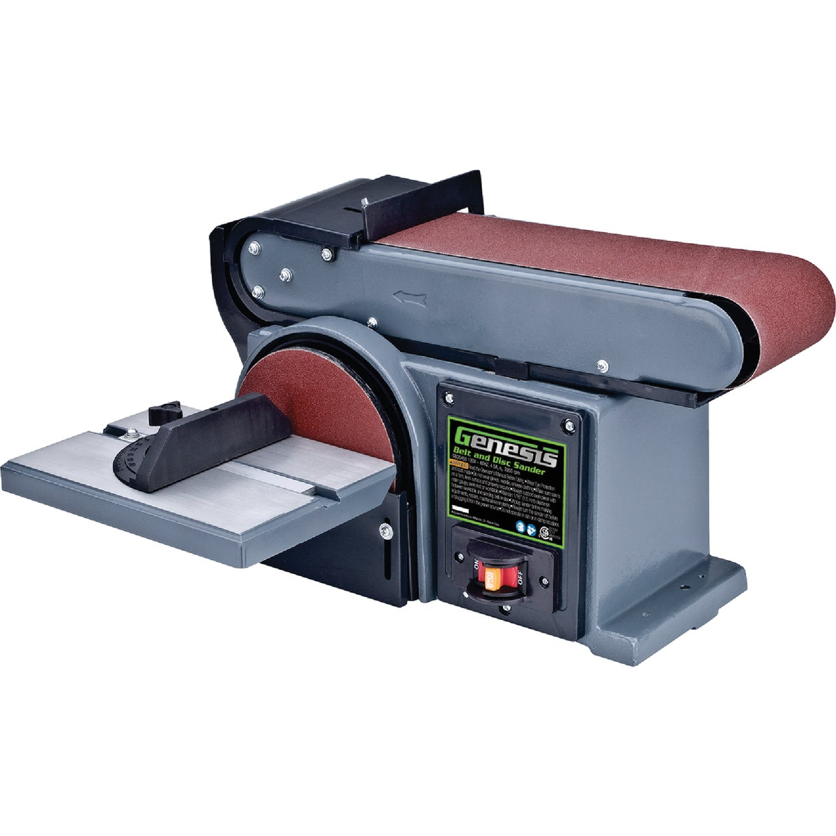 "6"" DISC & 4"" BELT SANDER - 3376-01 by Robt Bosch Tool Skil"