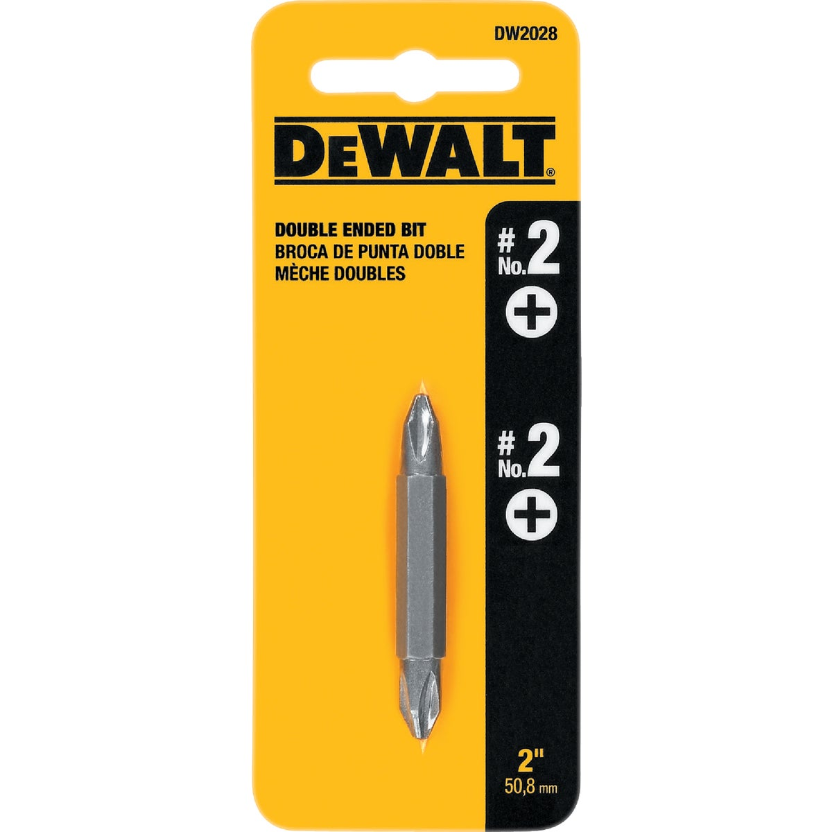 "#2 2"" PHILLIPS BIT - DW2028 by DeWalt"