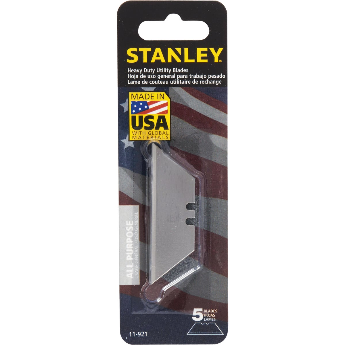 5PK KNIFE BLADE - 11-921 by Stanley Tools