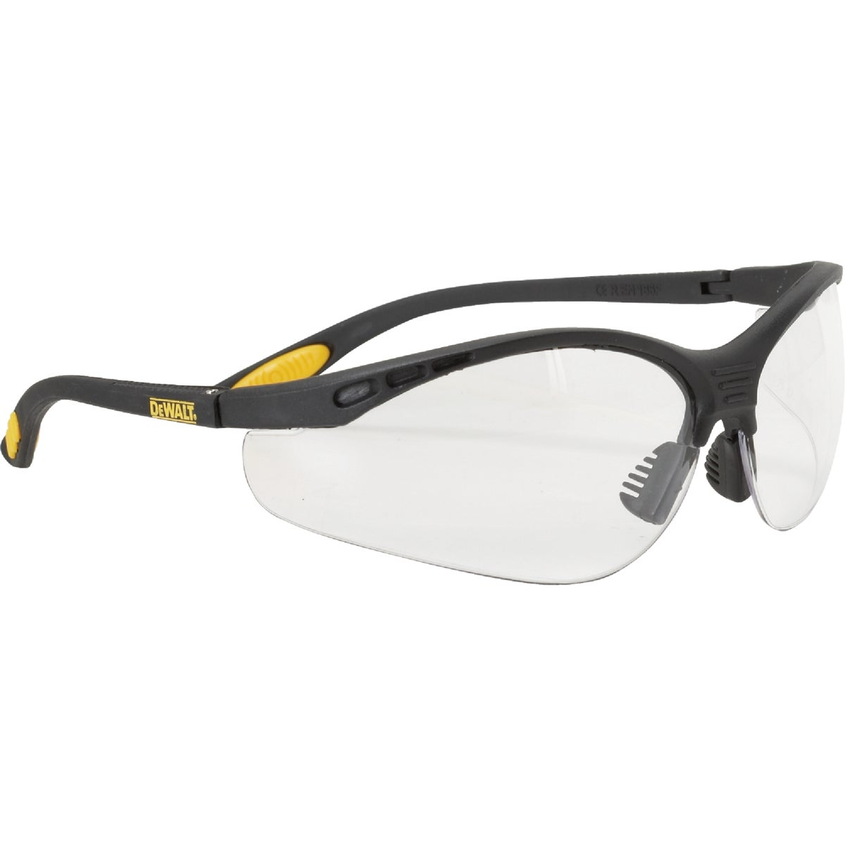 Radians CLEAR SAFETY GLASSES DPG58-1C