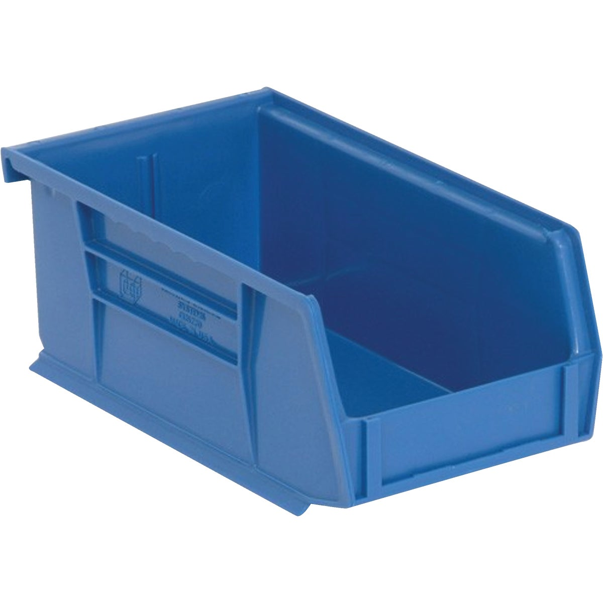 SMALL BLUE STORAGE BIN