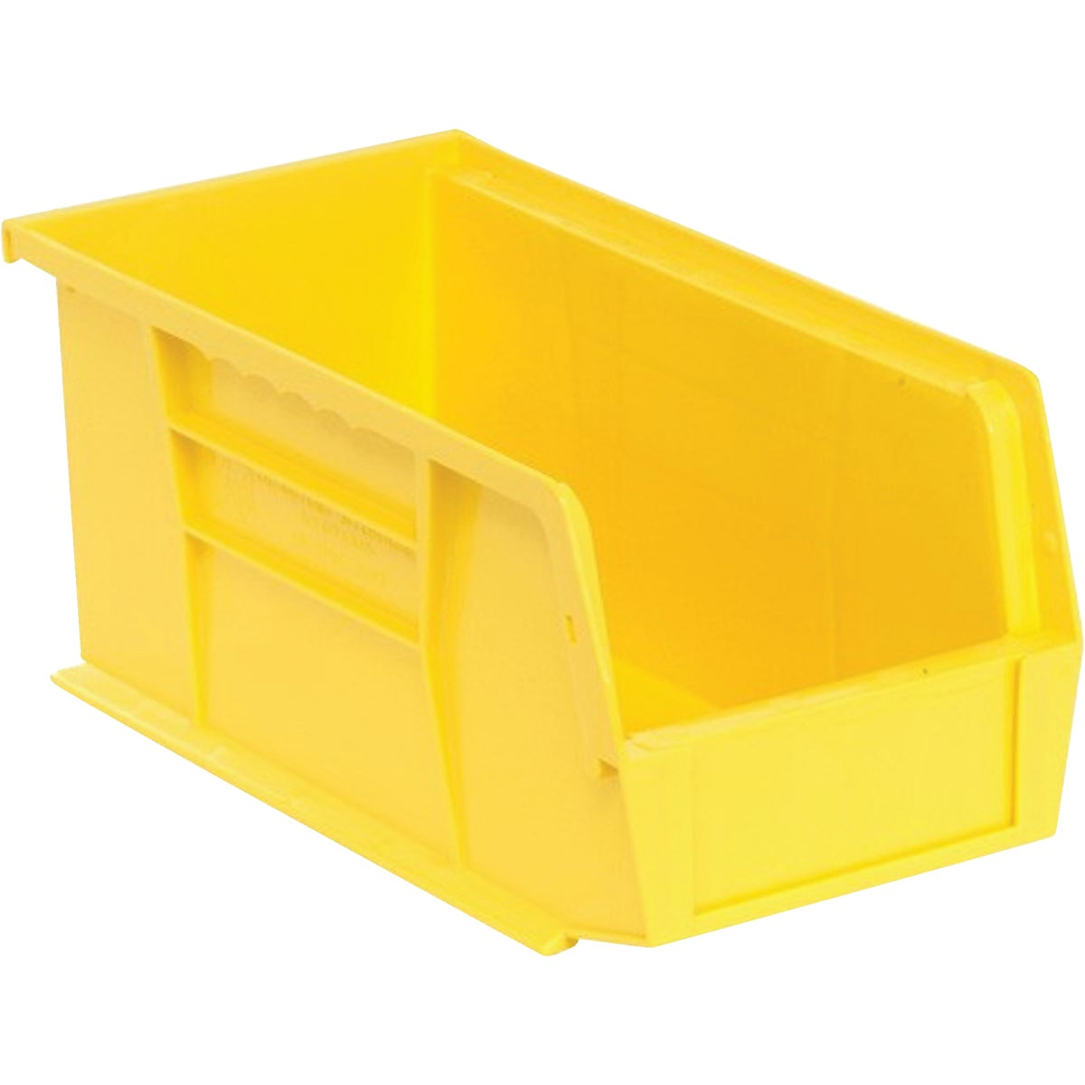 MEDIUM YELLW STORAGE BIN