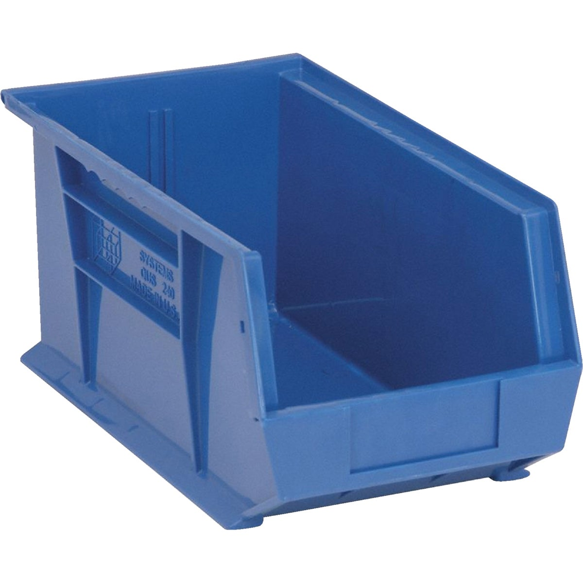 LARGE BLUE STORAGE BIN
