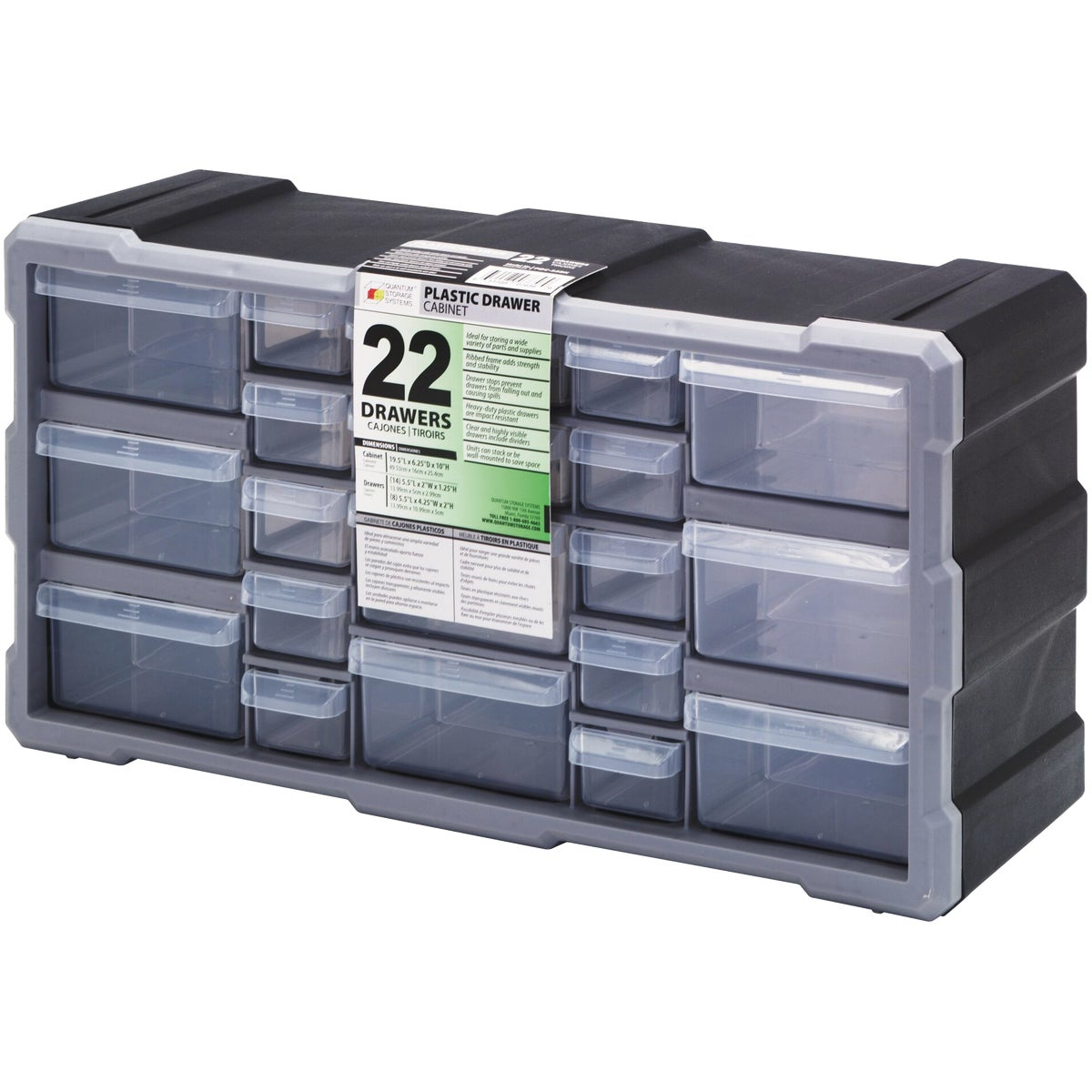 27 DRWR STORAGE CABINET - DS-27 by Stack On Products