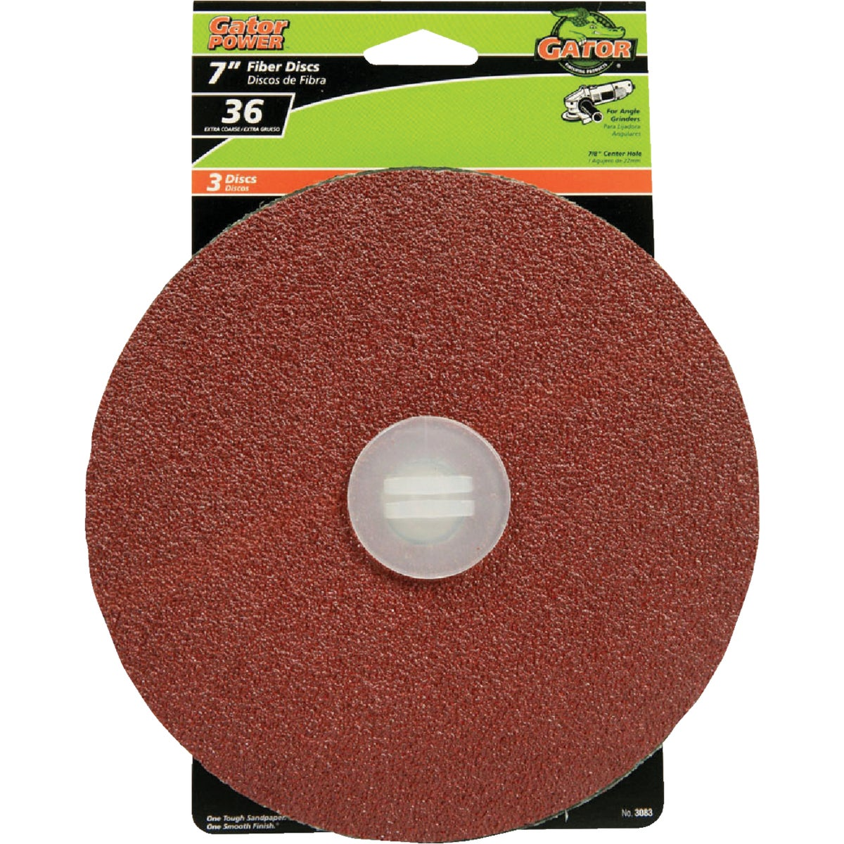 "7"" 36G ABRASIVE DISC - 3083 by Ali Industries Inc"
