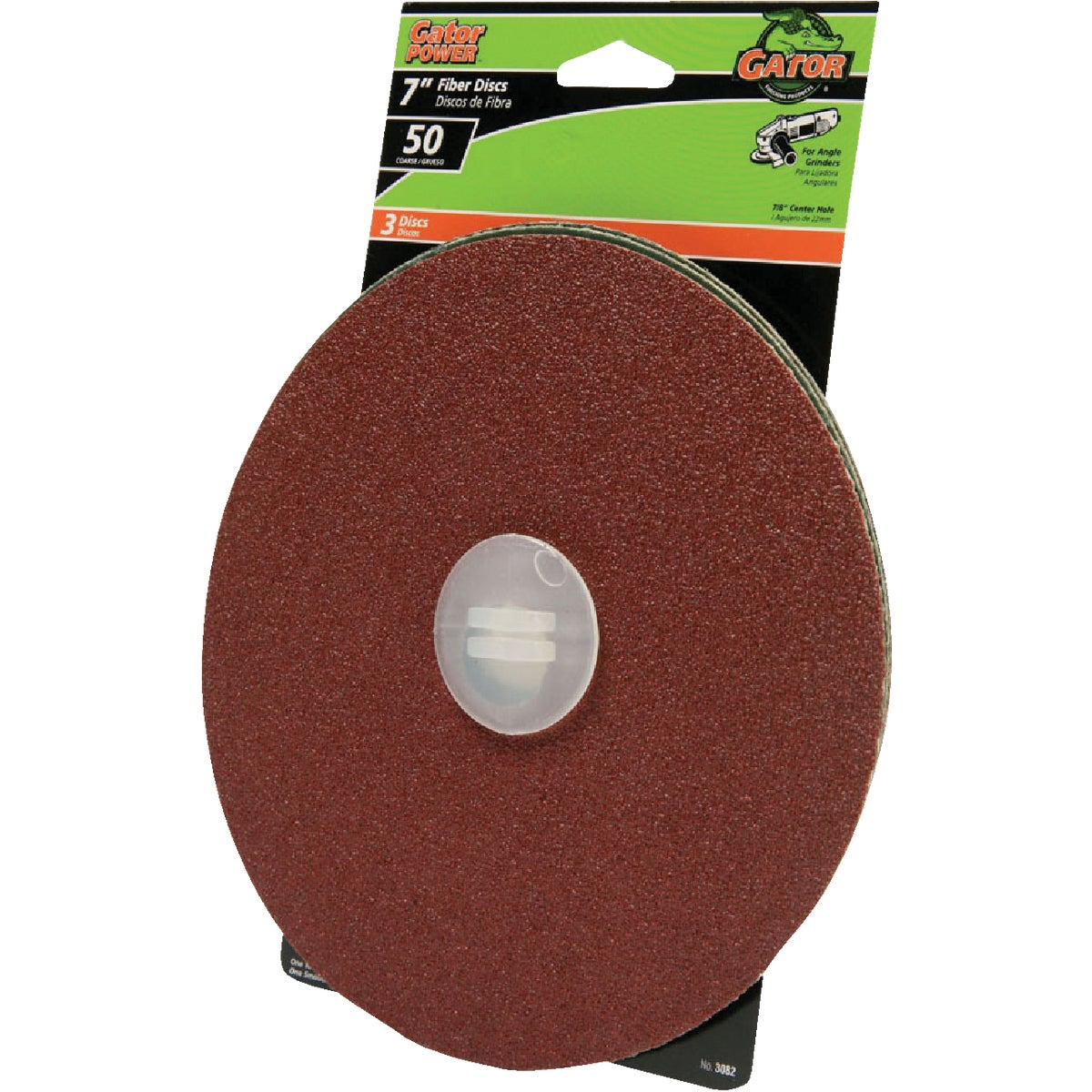 "7"" 50G ABRASIVE DISC - 3082 by Ali Industries Inc"
