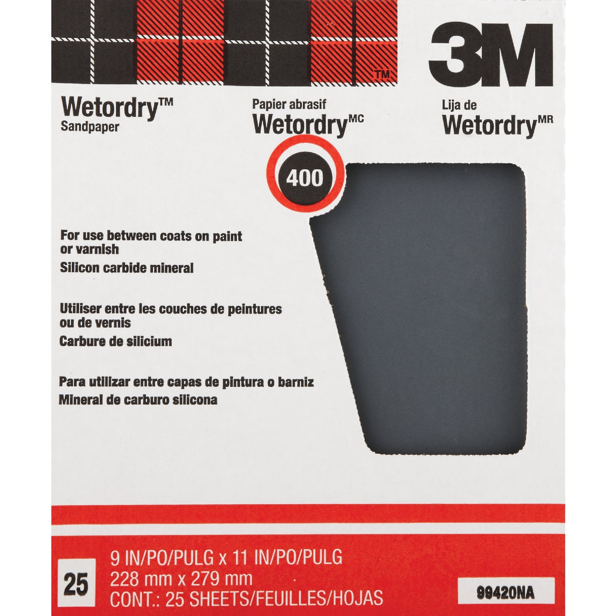 400A WET/DRY SANDPAPER - 99420NA by 3m Co