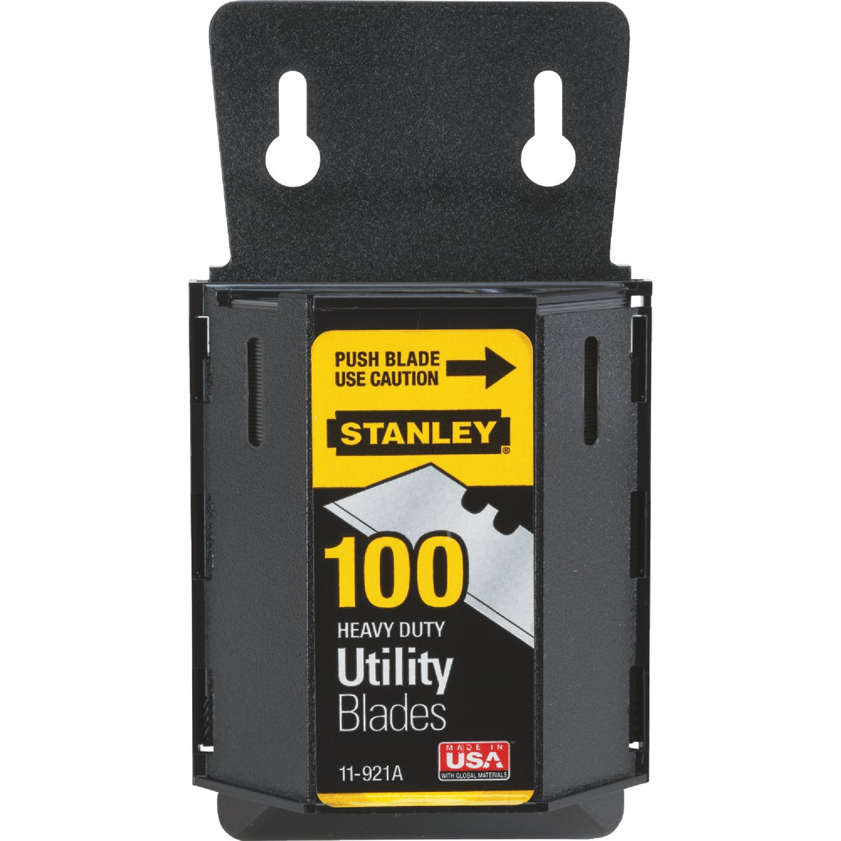 Stanley 11-921A Classic 1992 Heavy Duty Knife Blades Dispenser