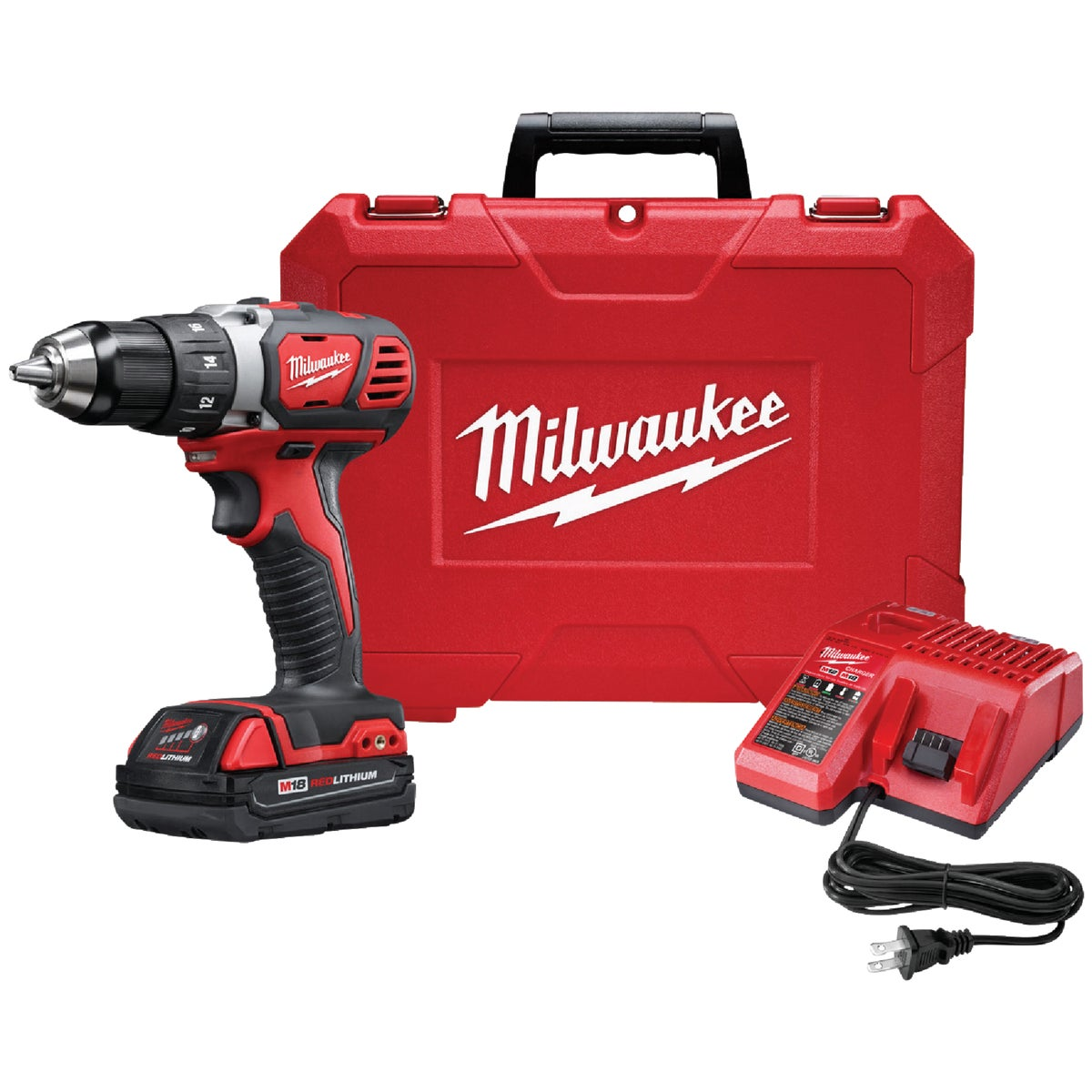 "18V 1/2"" DRIVR/DRILL KIT - 2606-22CT by Milwaukee Elec Tool"