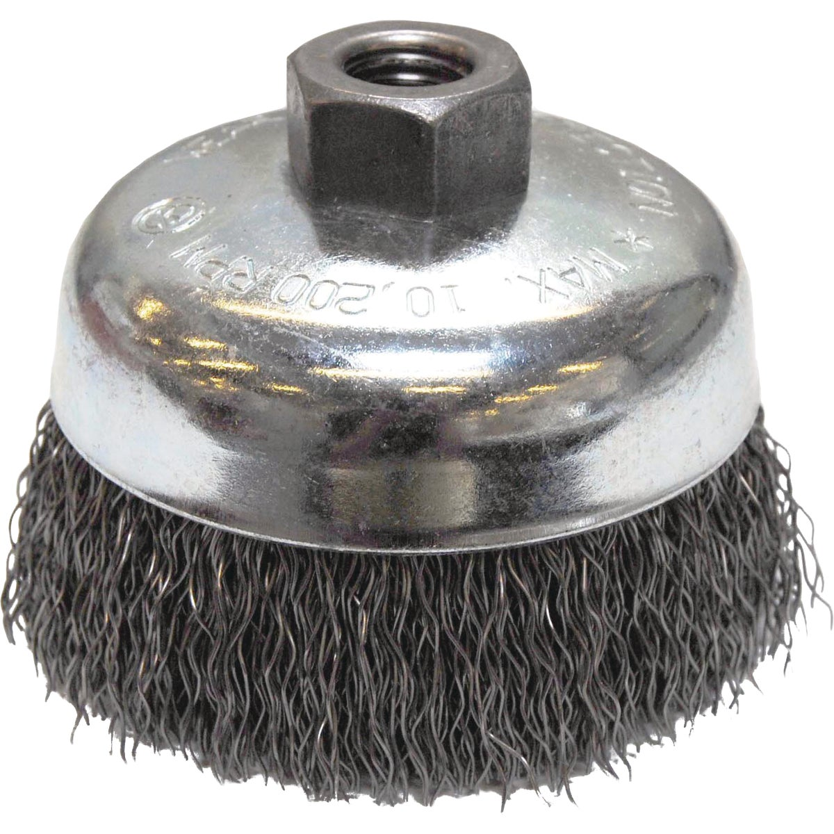 "4"".020 WIRE CUP BRUSH"