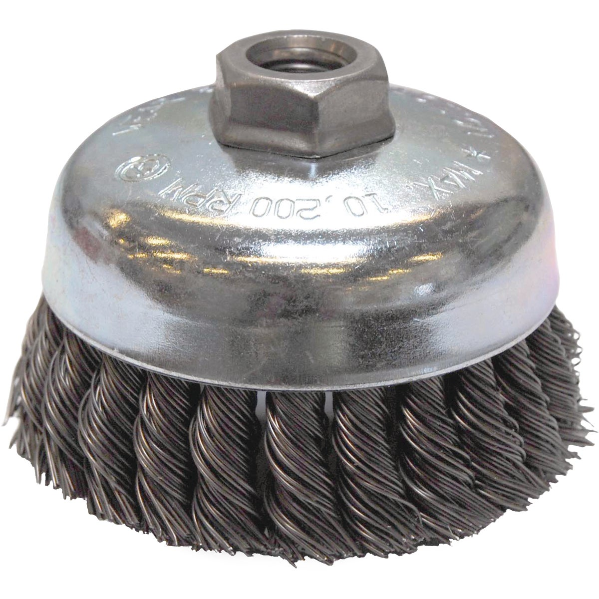 "4"" .020 WIRE CUP BRUSH - 36044 by Weiler Corporation"
