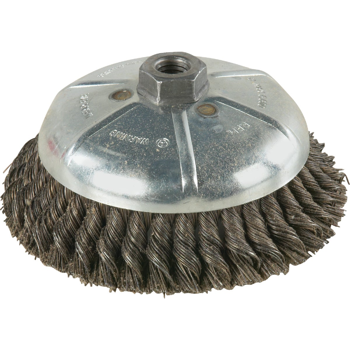 "6"" .010 WIRE CUP BRUSH - 36045 by Weiler Corporation"