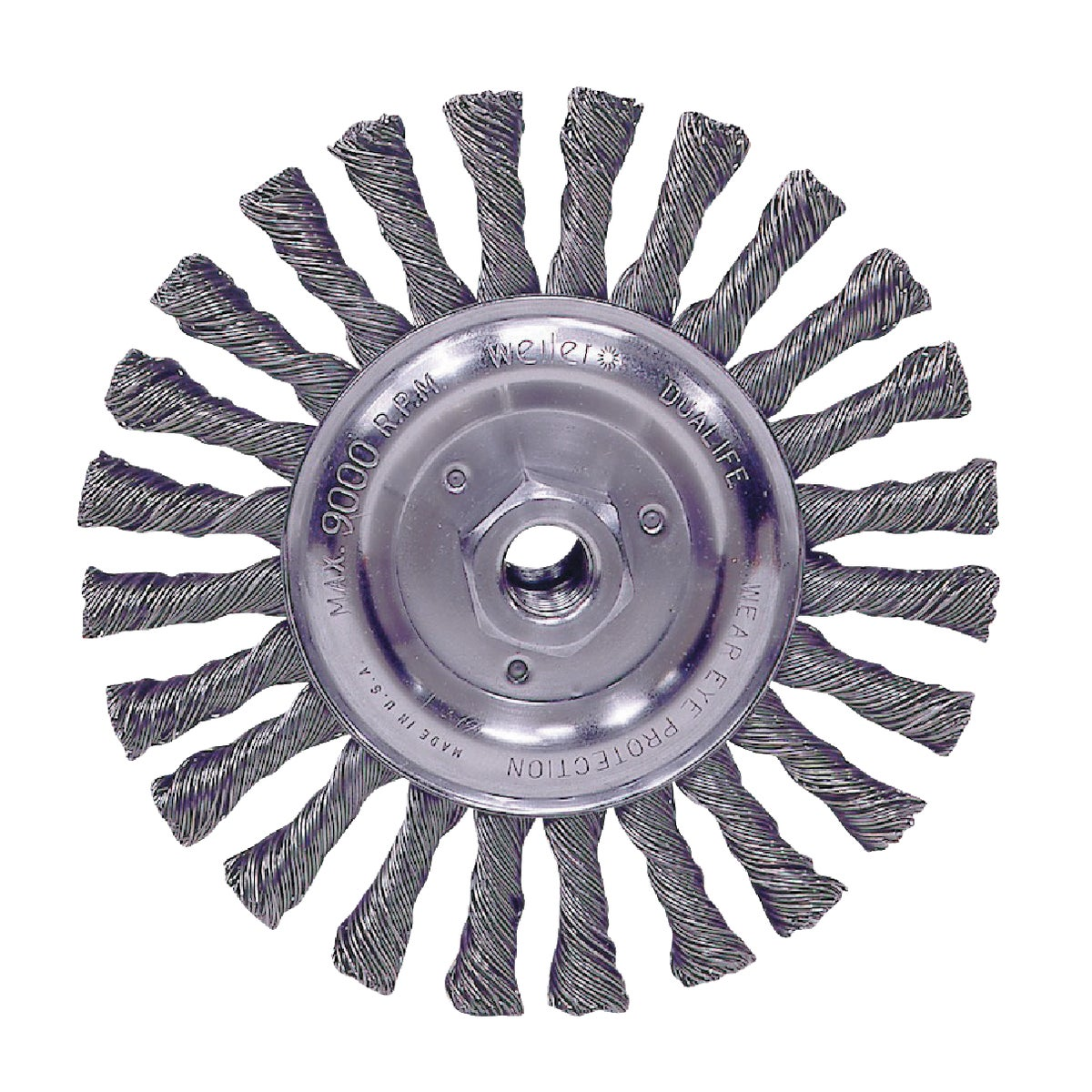 "6"" WIRE WHEEL - 36024 by Weiler Corporation"