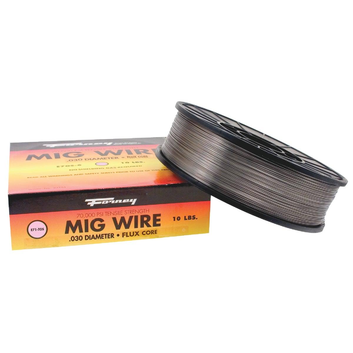 10LB .030 FC MIG WIRE