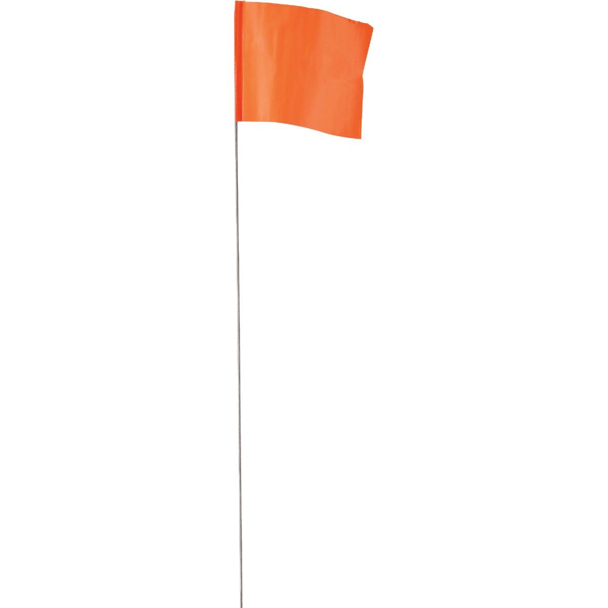 Irwin 100PK ORANGE FLAGS 64100