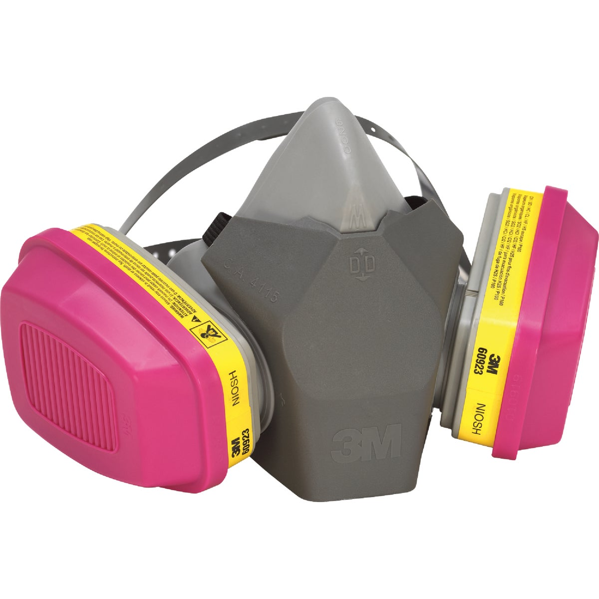 3M OV/AG/P100 Professional Multi-Purpose Respirator with Drop Down