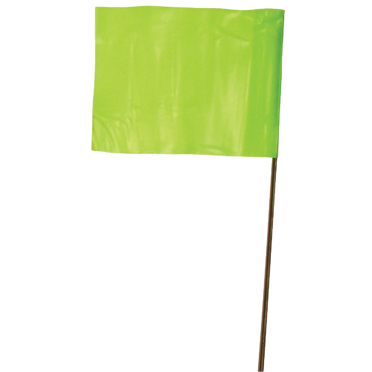Irwin 100PK LIME FLAGS 64102