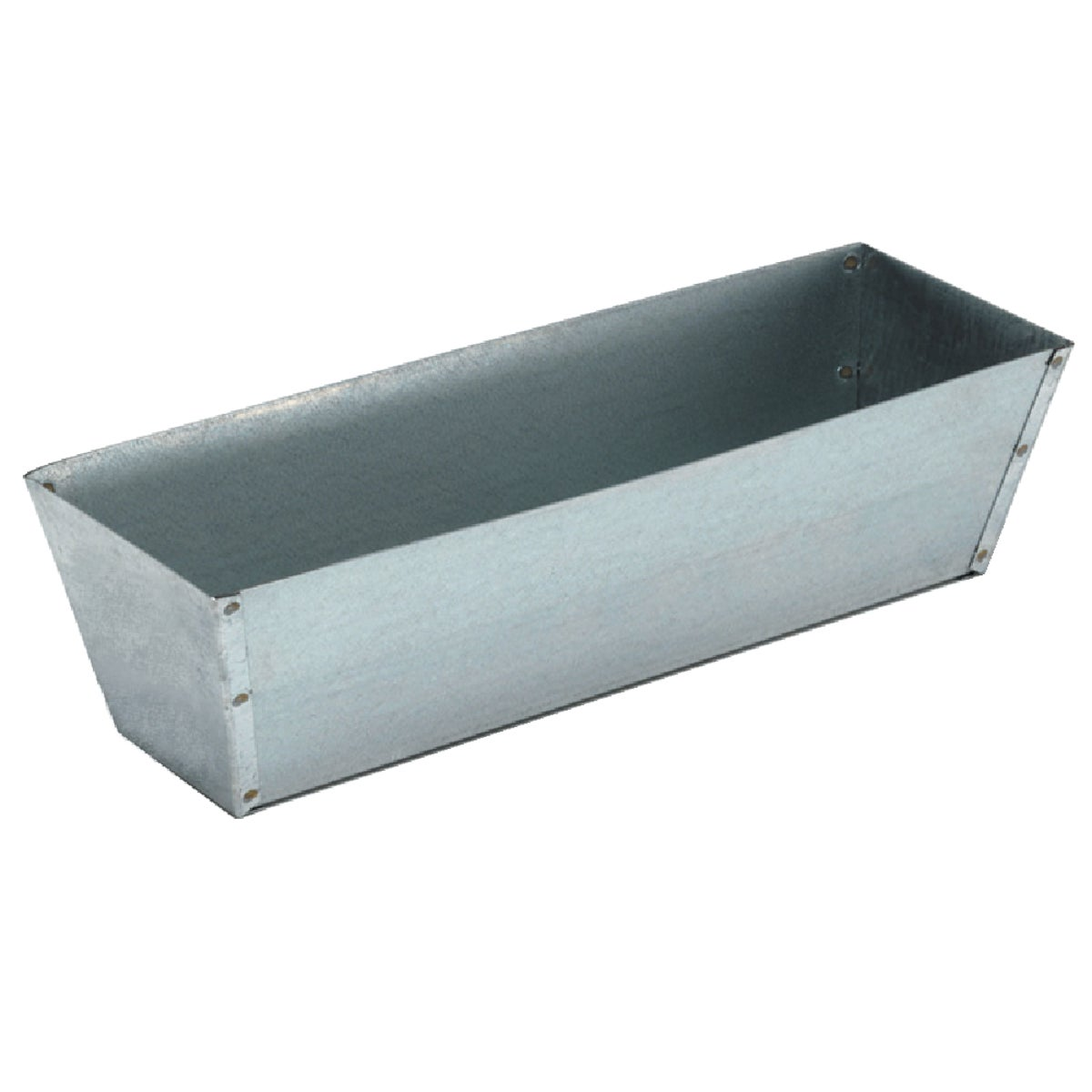 "14"" GALVANIZED MUD PAN"