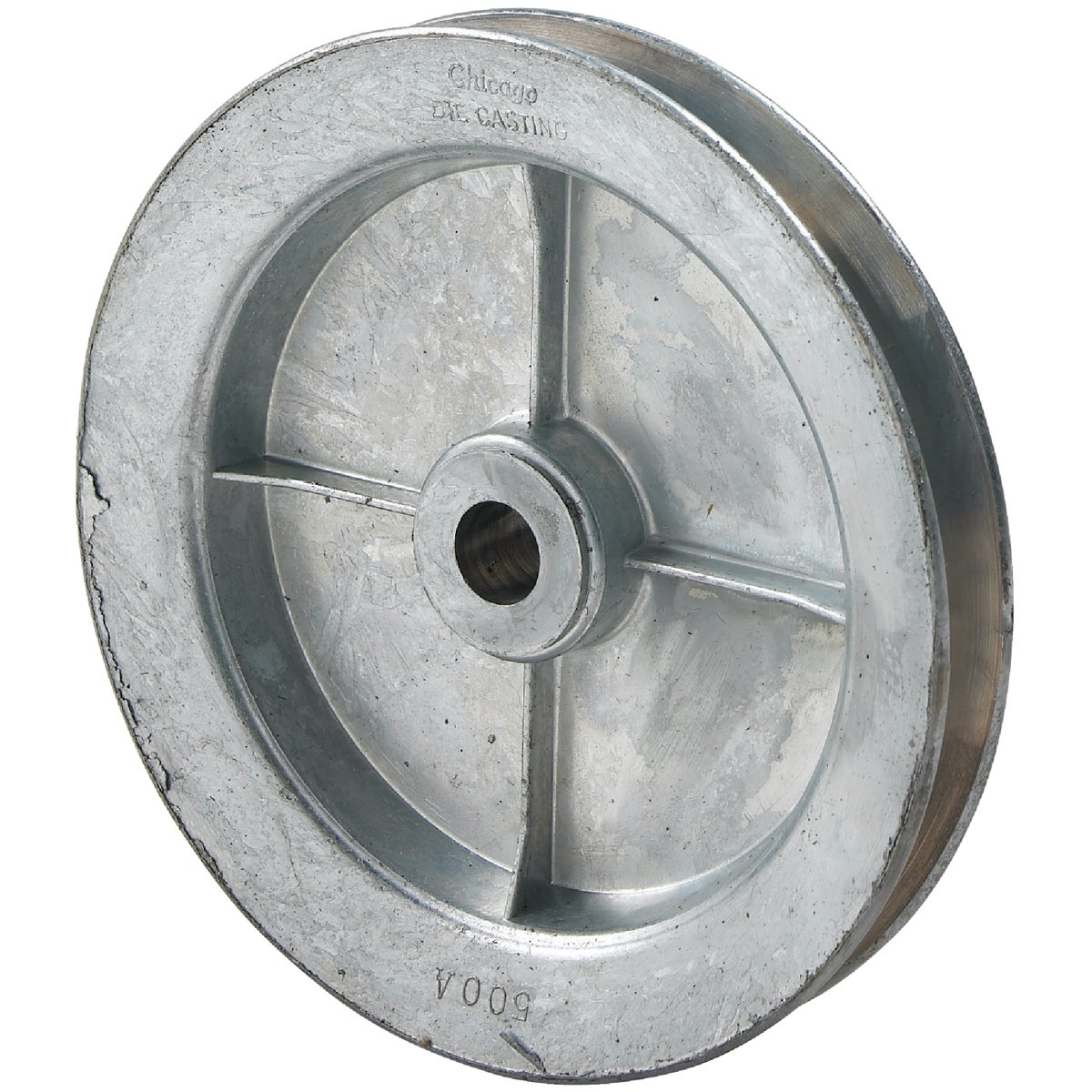 5X1/2 PULLEY - 500A5 by Chicago Die Casting