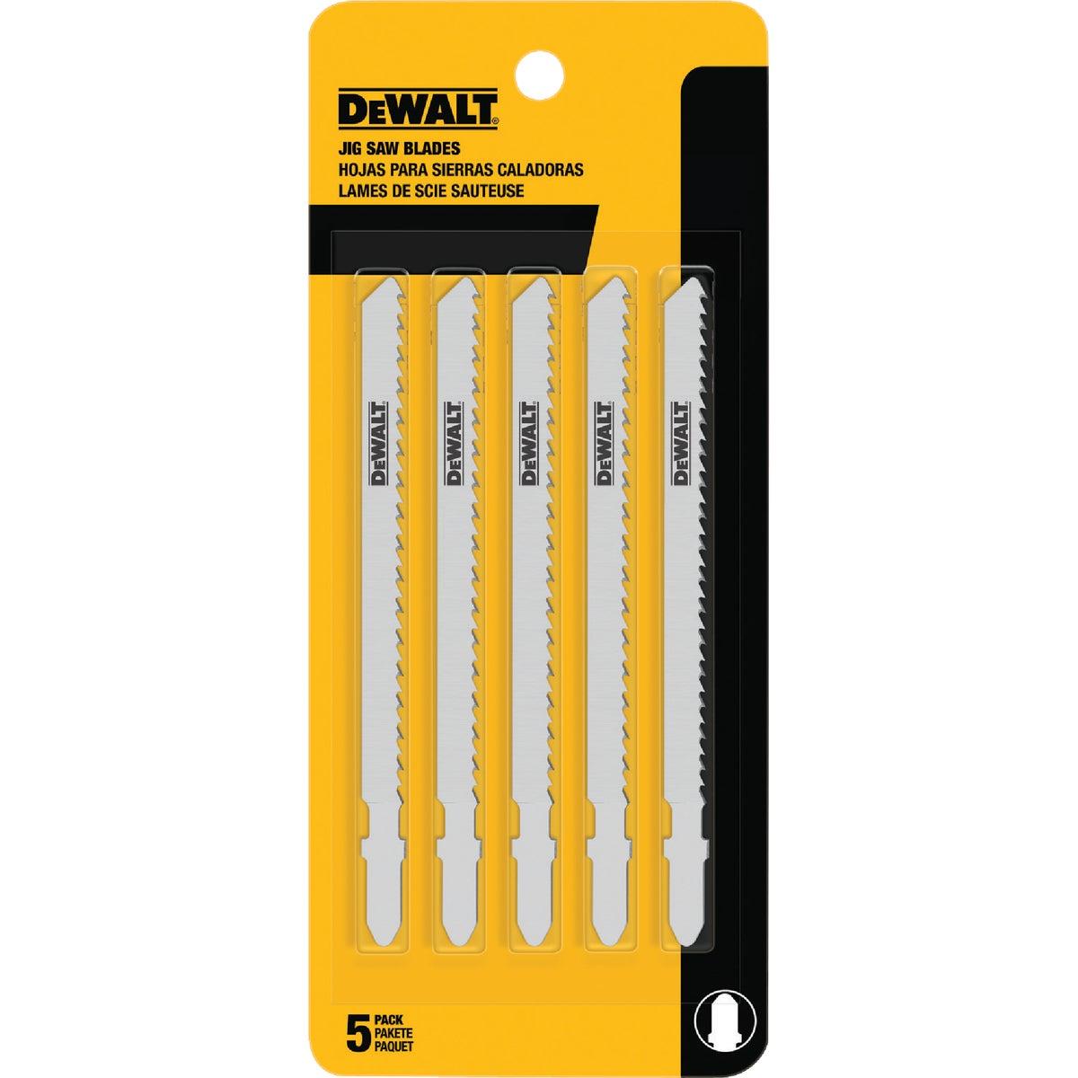 """5PK 4"""" 6T JIGSAW BLADE - DW3753-5 by DeWalt"""