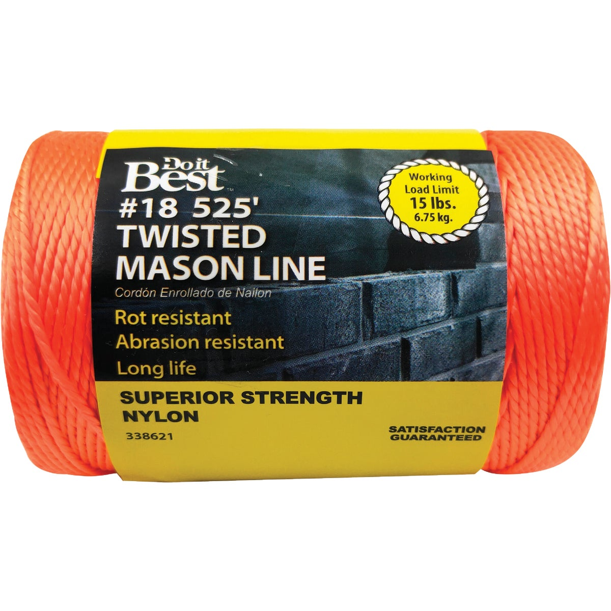 525' NYL ORNG MASON LINE - 338621 by Do it Best