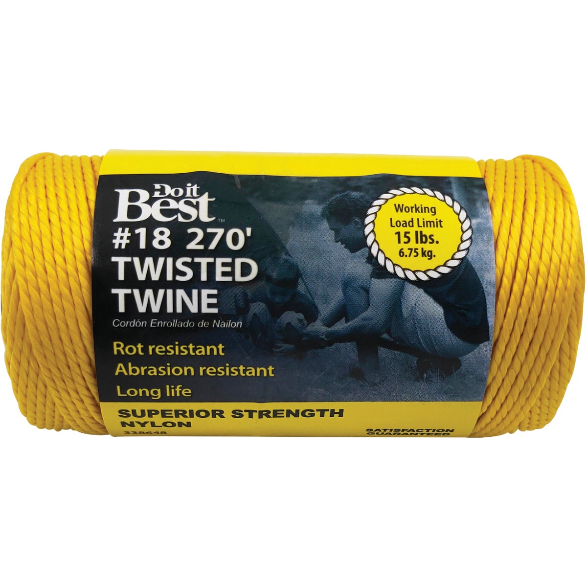 270' #18 YEL NYLON TWINE - 338648 by Do it Best