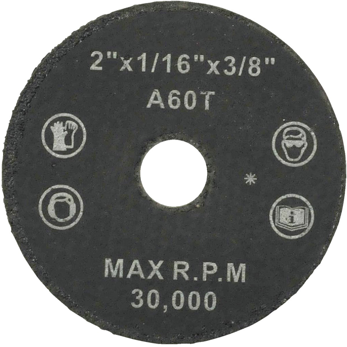 2X1/16 ABRASIVE WHEEL - 36533 by Weiler Corporation