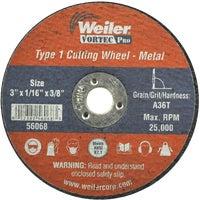 Weiler Brush 3X1/16 ABRASIVE WHEEL 36537