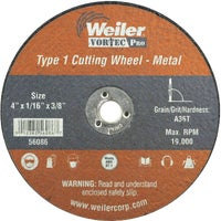 Weiler Brush 4X1/16 ABRASIVE WHEEL 36540
