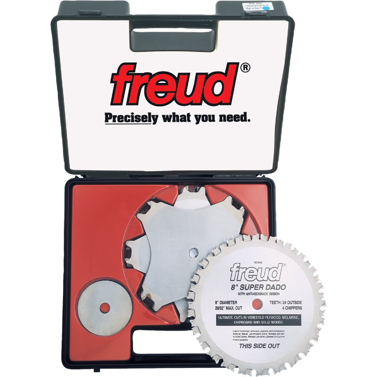 "8"" PREMIUM DADO BLADE - SD508 by Freud Inc"