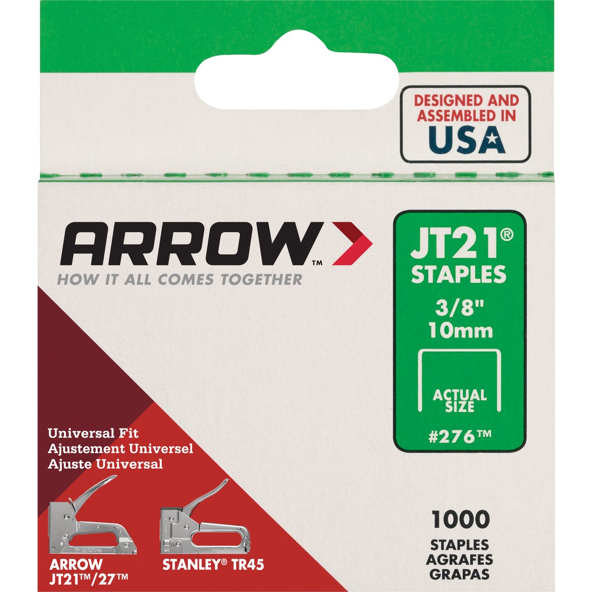 "3/8"" STAPLE - 276 by Arrow Fastener Co"