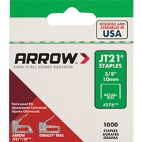 Arrow JT21 Light Duty Staple, 276