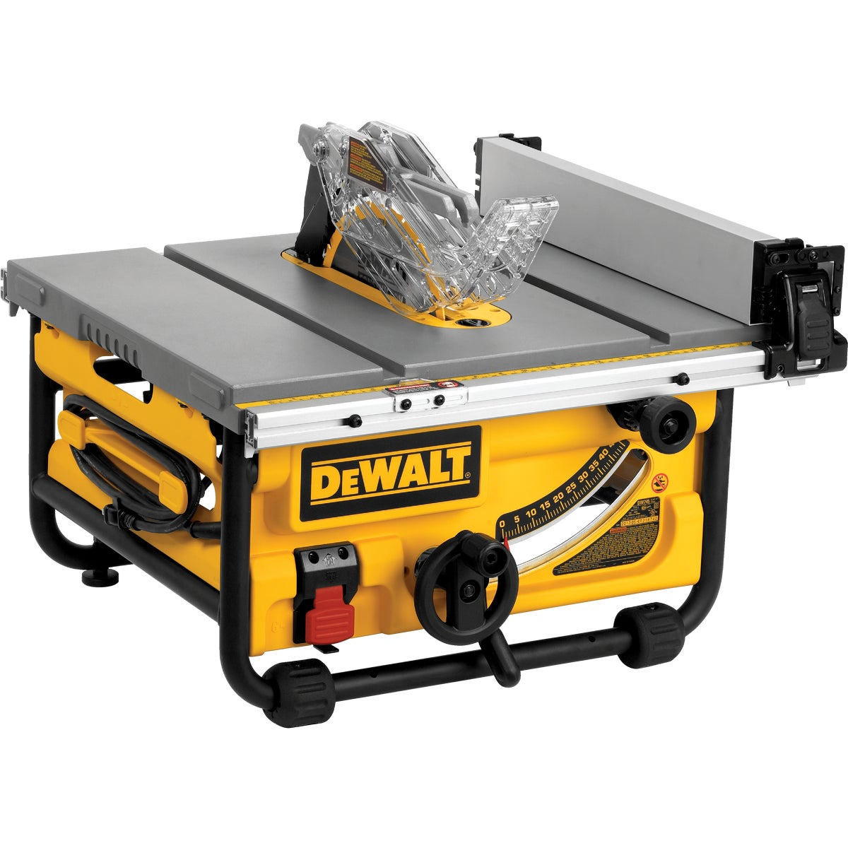 "10"" COMPACT JOB SITE SAW - DWE7480 by DeWalt"