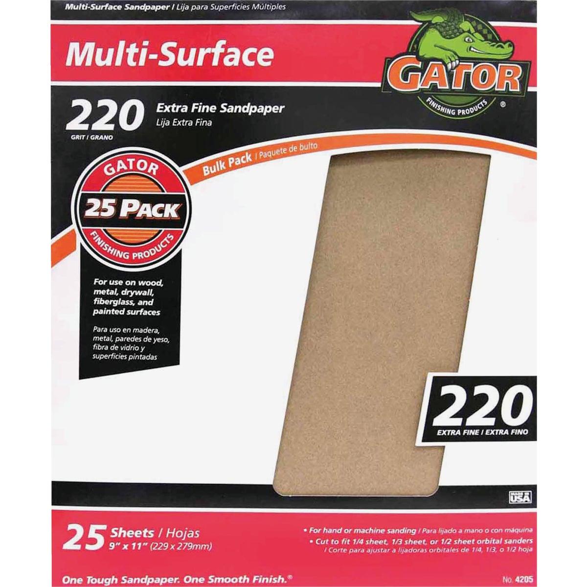 220C A/O Sandpaper