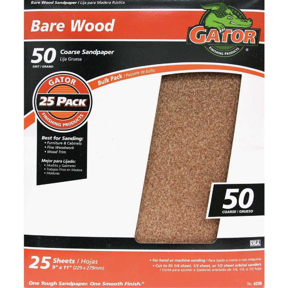 50G Garnet Sandpaper