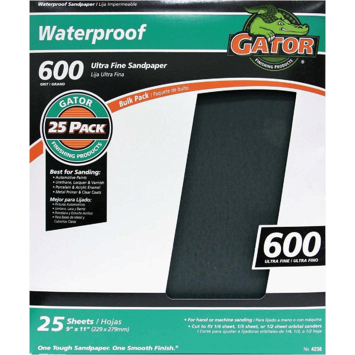 600B Wet/Dry Sandpaper