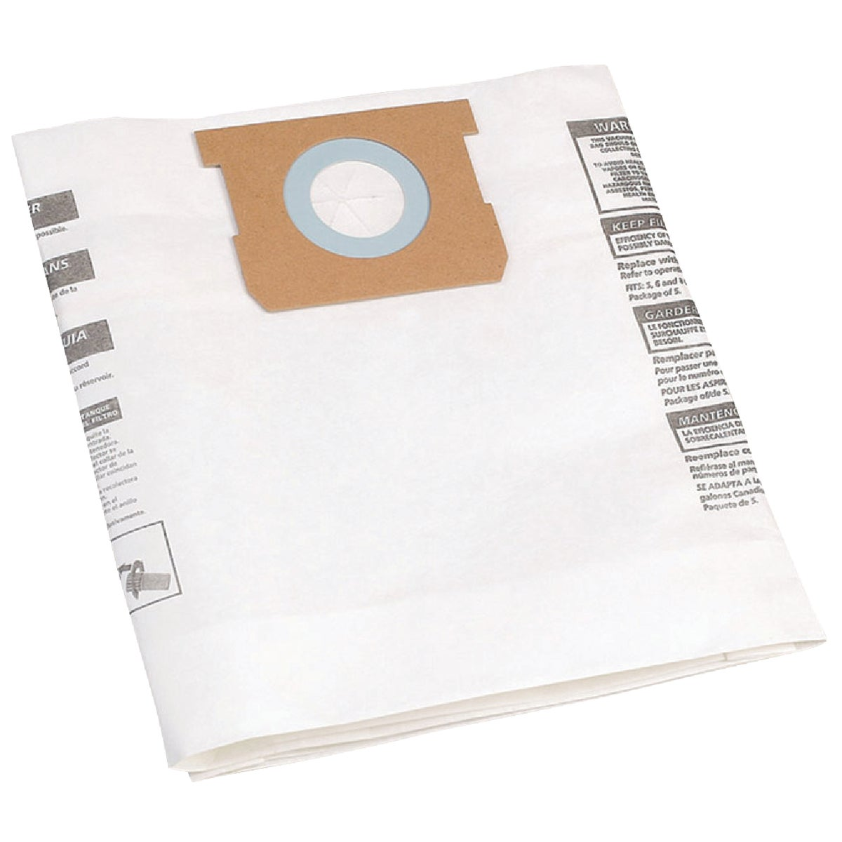 ALL AROUND FILTER BAG - 9196400 by Shop Vac Corp