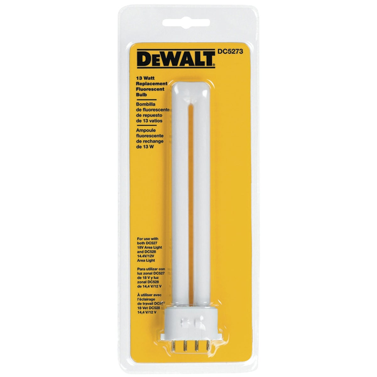 13W REPLACEMENT BULB - DC5273 by DeWalt