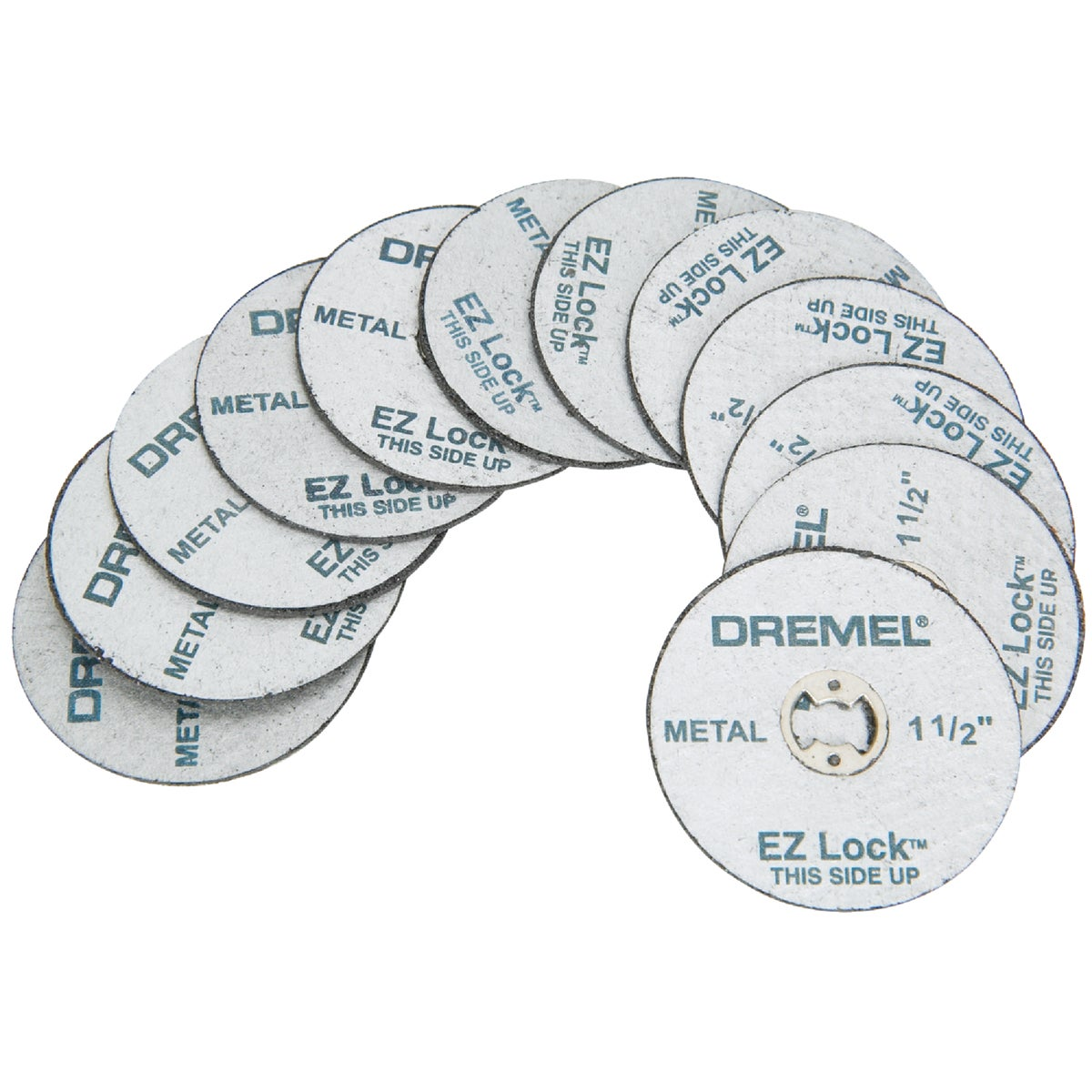 12PK CUT-OFF WHEEL - EZ456B by Dremel Mfg Co