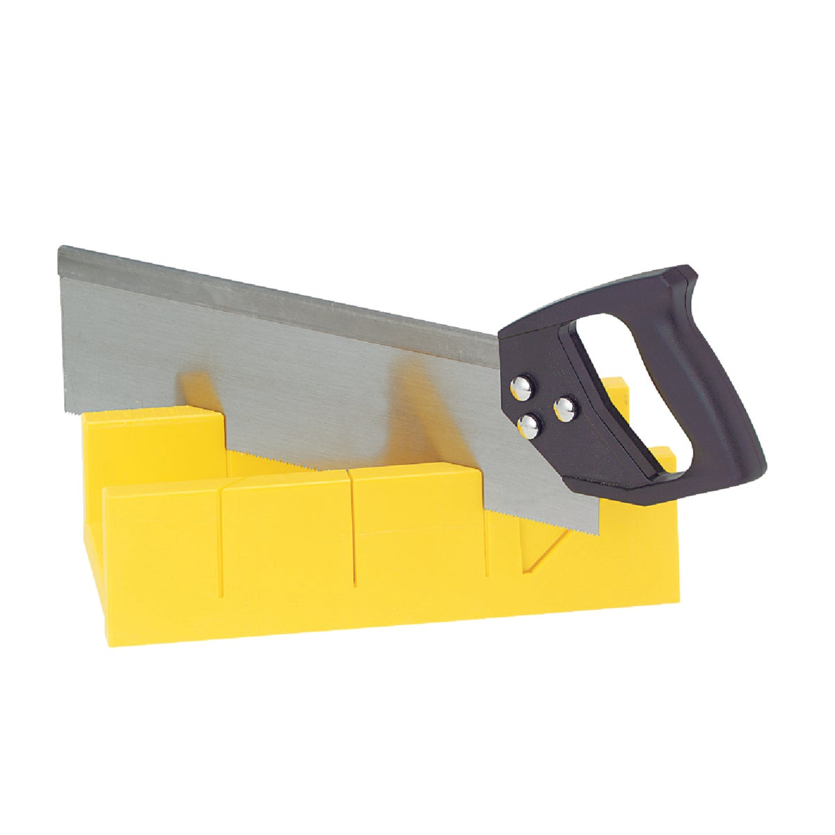 "12"" PLASTIC MITER BOX - 340588 by Great Neck Saw Inc"