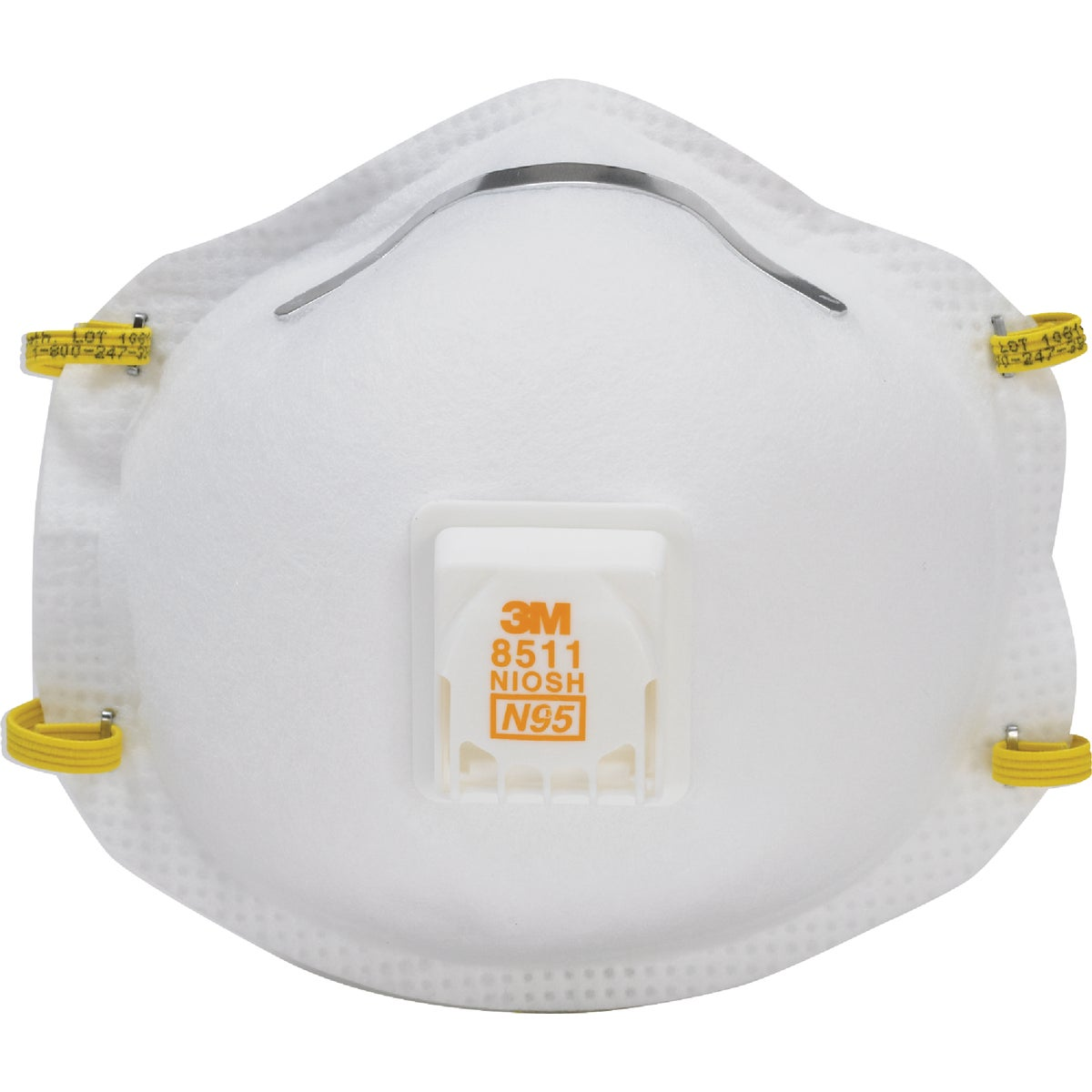 SANDING RESPIRATOR W/VLV - 8511HA1-C by 3m Co