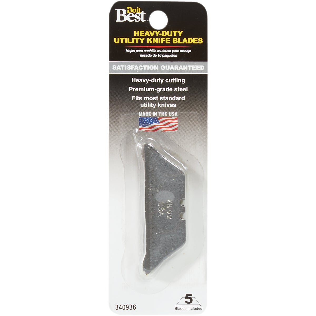 10PK UTILITY BLADES - 340936 by Do it Best