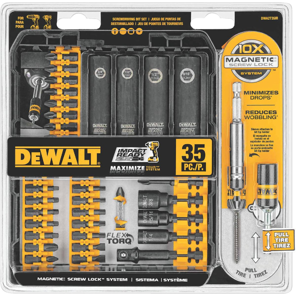 38PC IMPACT READY SET - DW2169 by DeWalt