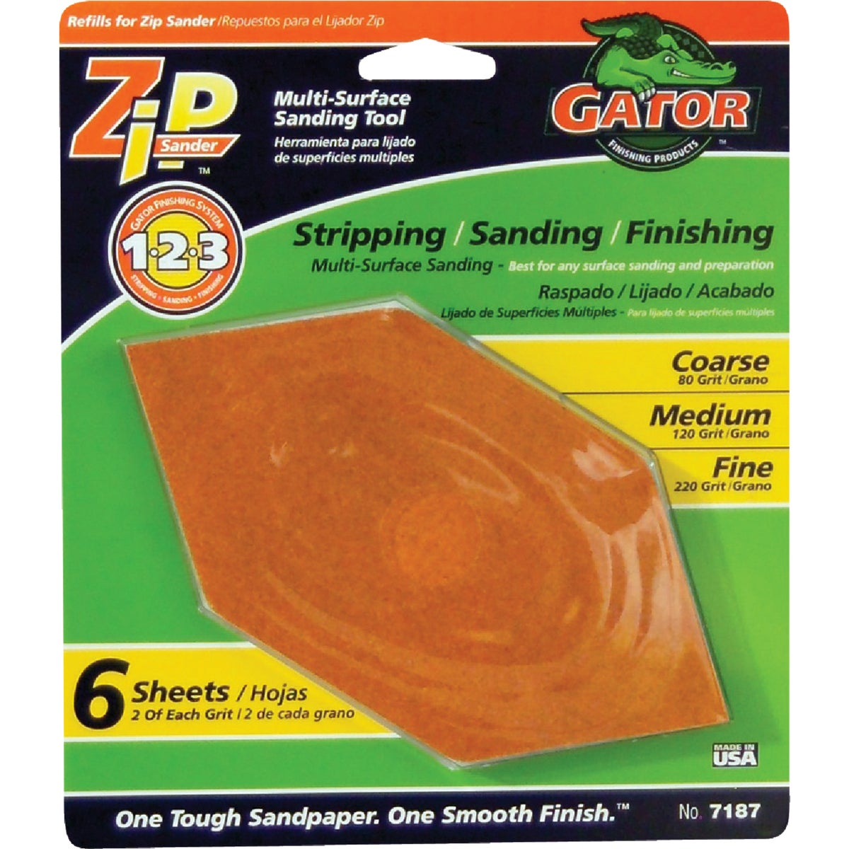 6 PACK ASST ZIP REFILL - 341630 by Ali Industries Inc