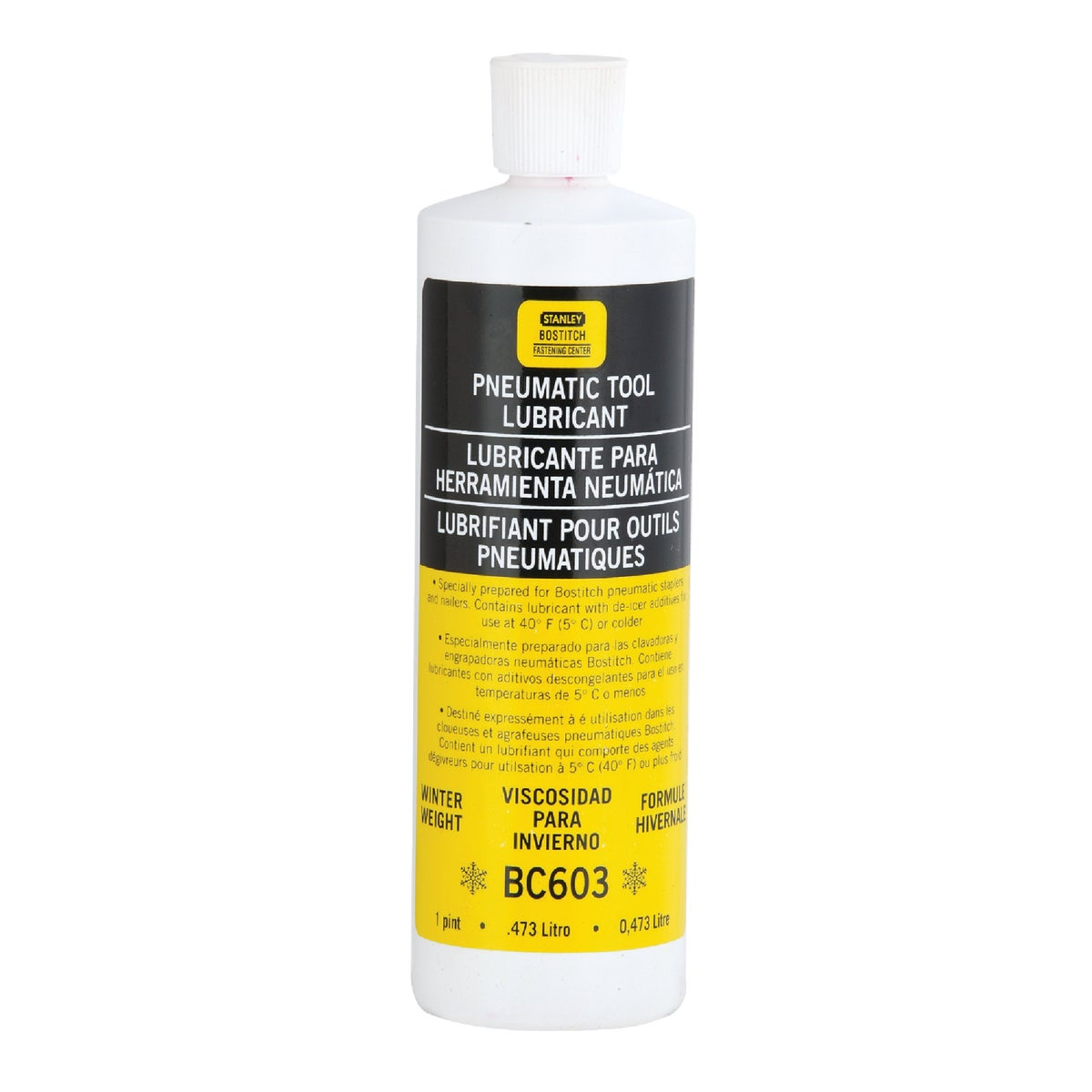 4OZ WINTER PNEUMATIC OIL - WINTEROIL-4OZ by Stanley Bostitch